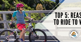 TOP 5 REASONS TO RIDE TO WORK 1